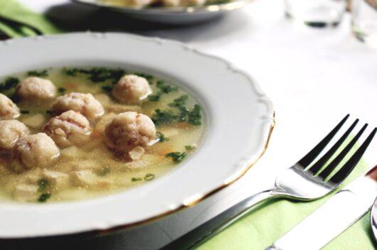 肉と野菜のスープ