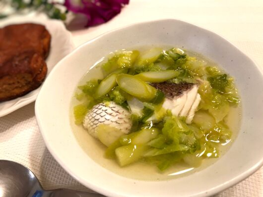 鯛のスープ
