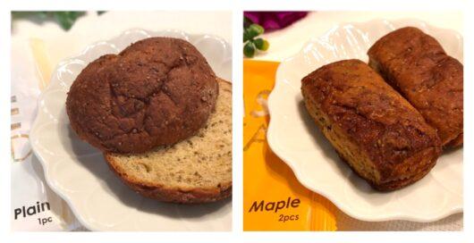 ベースフードのパン2種