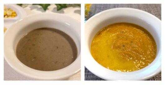 ビオフロレスタのスープ2種