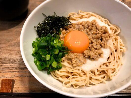 納豆とろろ麺