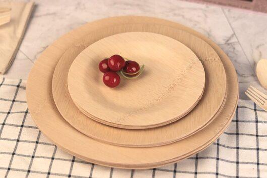 木製の食器類