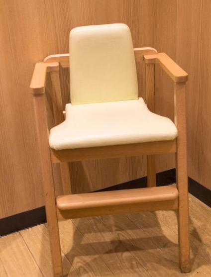床置きの子供椅子
