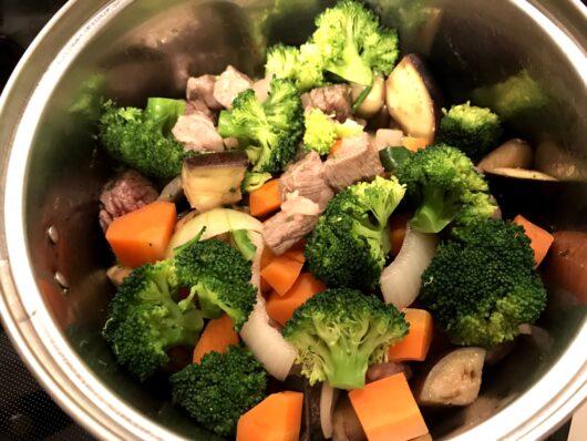 ゆで野菜の作り置き