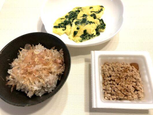 納豆の朝ごはん