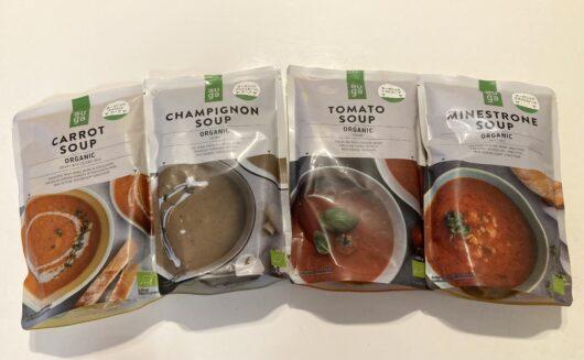 ビオフロレスタのスープ4種