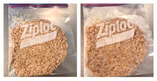 冷凍した納豆